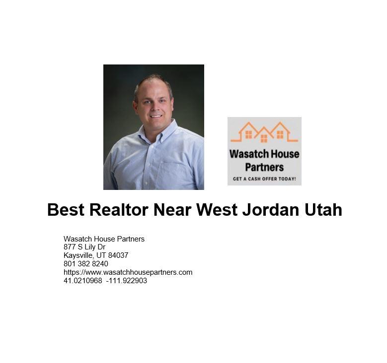 Best Realtor Near West Jordan Utah