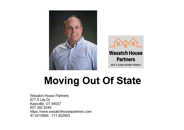 Moving Out Of State