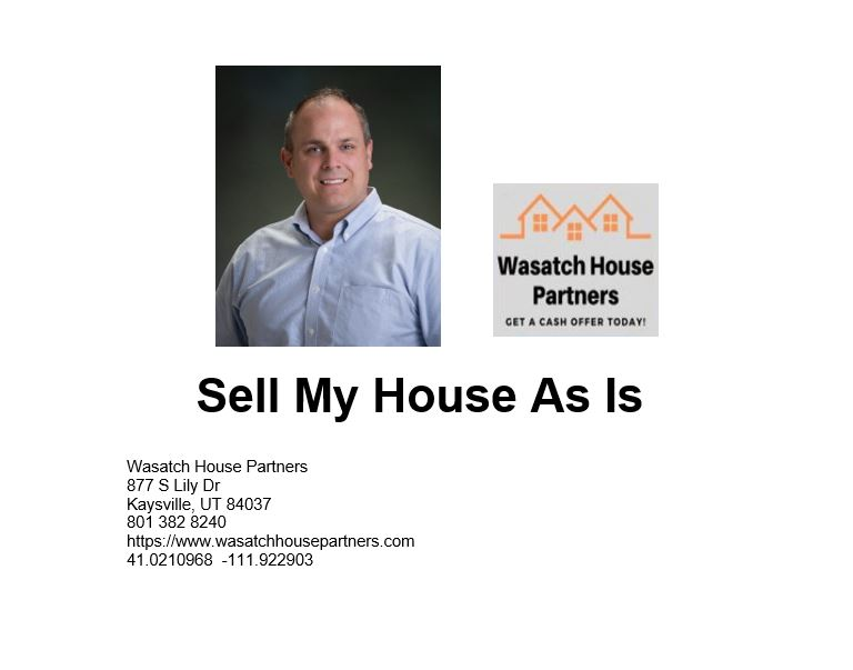 Sell My House As Is